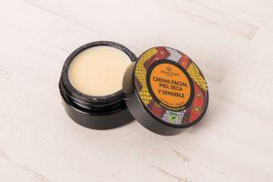 Crema Facial Piel Seca y Sensible 30ml – Maison Karité.