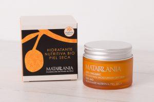 Crema Hidratante nutritiva piel seca 100% BIO – MATARRANIA